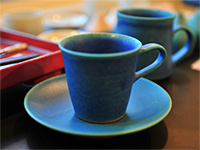 cup and saucer(blue)